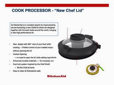 Nuovo coperchio per cook processor