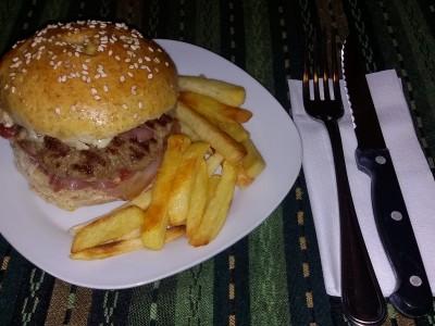 Panini per hamburger di farina integrale