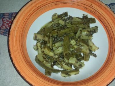 Zucchine croccanti marinate