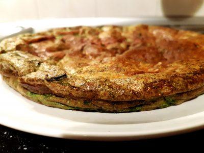 Frittata di spinaci e ricotta