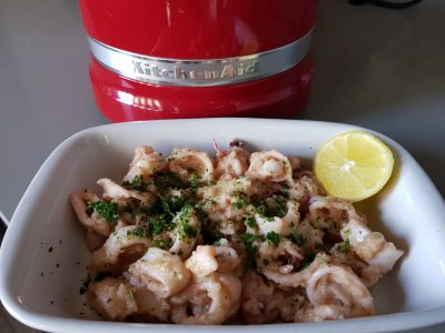 Calamari al Limone